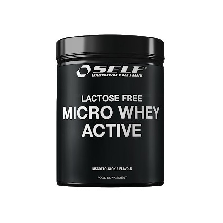 Self OmniNutrition Micro Whey Active Lactose Free