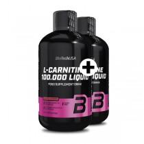 Akciový balíček BioTech USA L-Carnitine 100.000 Liquid 2 x 500 ml